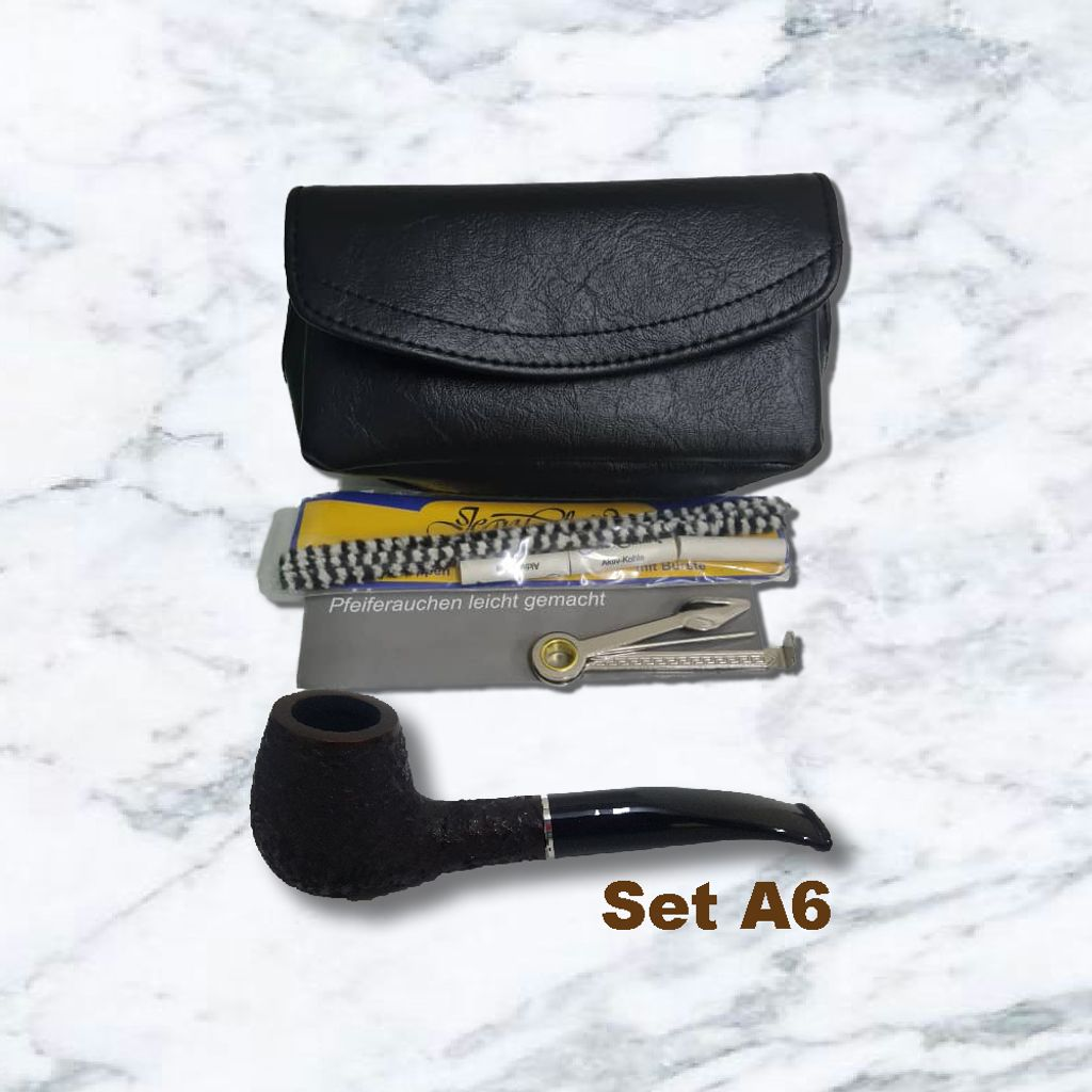 Pipe Starter Set Leatherette Pipe Sand with Acrylic Mouthpiece-0A6.jpg