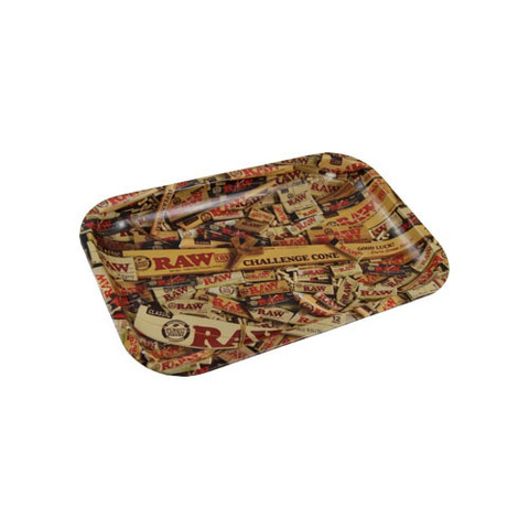 RAW Metal Mix Rolling Tray Small 27.5 X 17.5cm.jpg