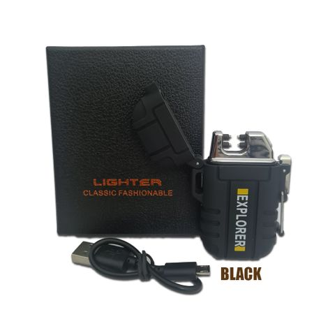 Arch-X Lighter USB Rechargable with Safety Bucklet F12-BLK.jpg
