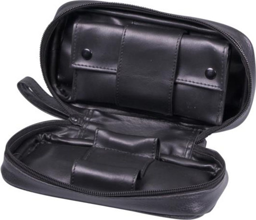 Pipe bag leatherette black, for 2 pipes(632012)#2.jpg