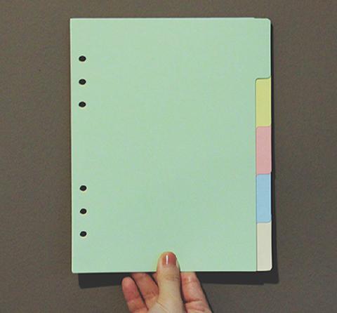 6 Binder Refillable Inserts - Divider Set (Light Version - 5 Colors)-02.jpg