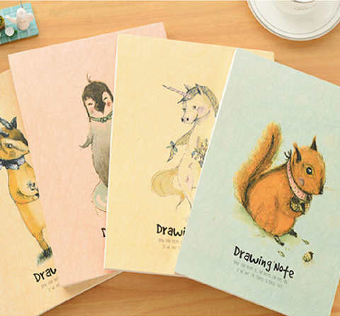 WOODLAND FRIENDS Creative Sketch Book-02.jpg