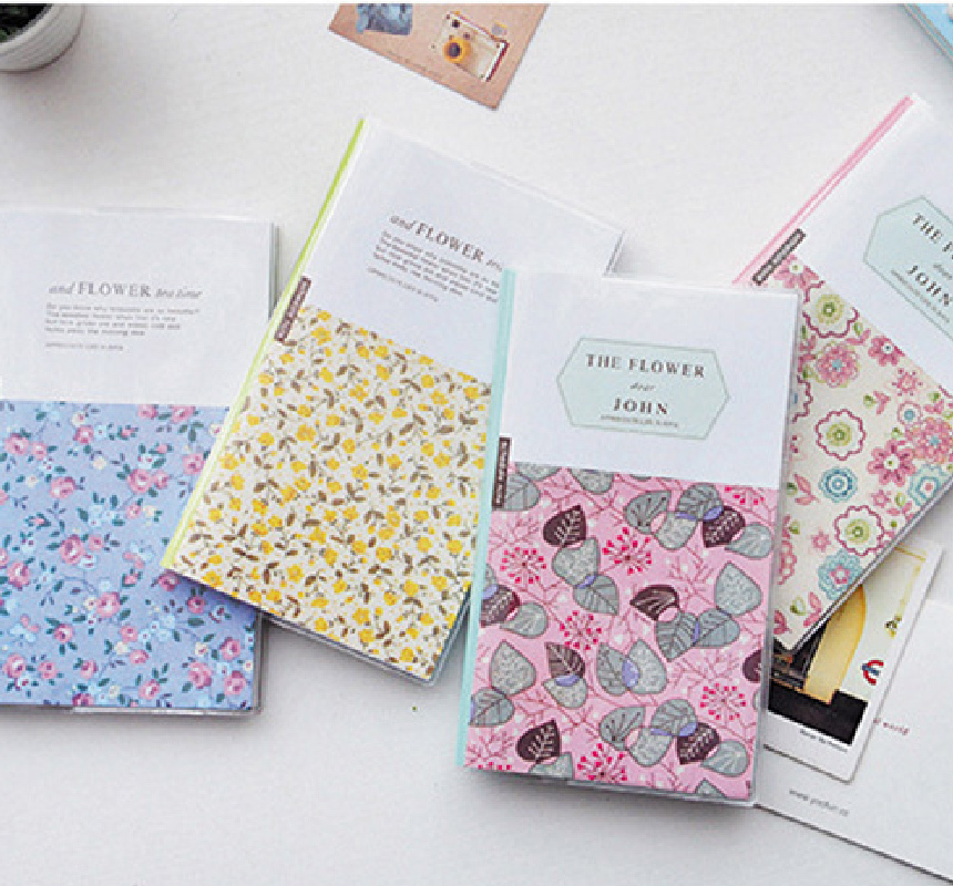 THE FLOWER Plastic Cover Notebook-02.jpg