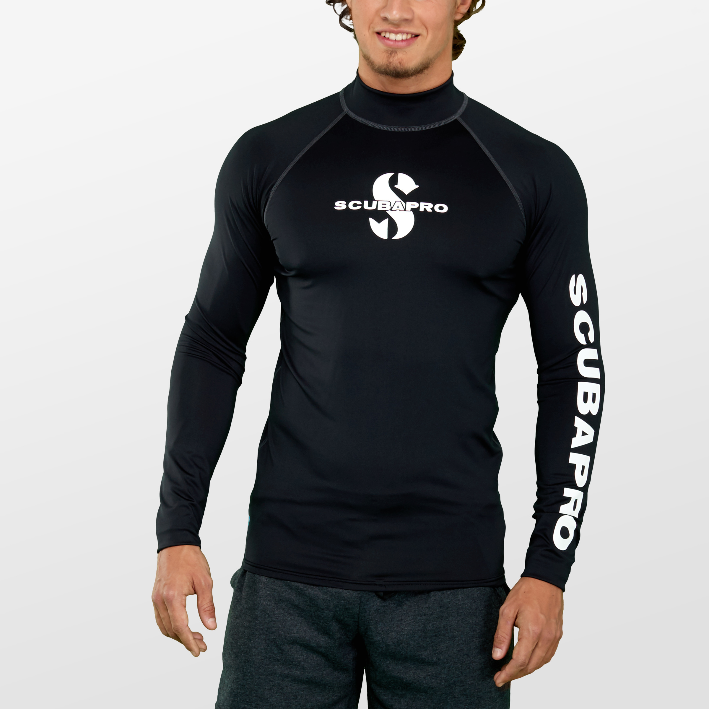 Scubapro UPF-50 Rash Guards Series Long Sleeve Mens Rash ...