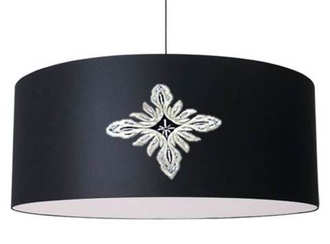 Sumur Black Lampshade Drum.jpg