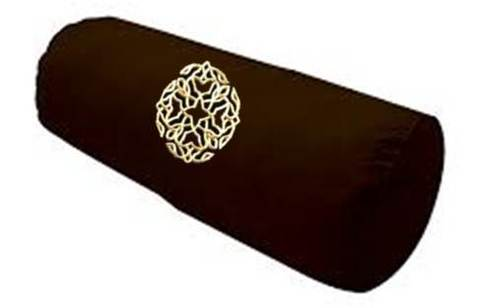 Jati Brown Bolster Pillow.jpg