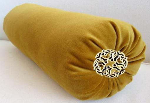 Mahkota Gold Bolster Pillow.jpg