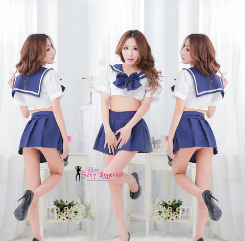 AB1610 Naughty Student Custome Sexy Nightwear Dress 3.jpg