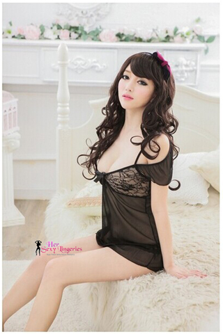 SEXY OPEN SHOULDER BABYDOLL (BLACK) BDY035 1.jpg