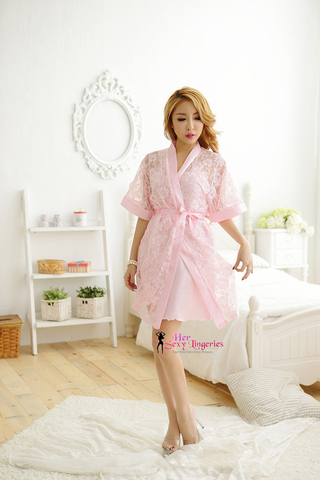 SEXY BABYDOLL DRESS WITH ROBES  (PINK) BDY1124 2.jpg