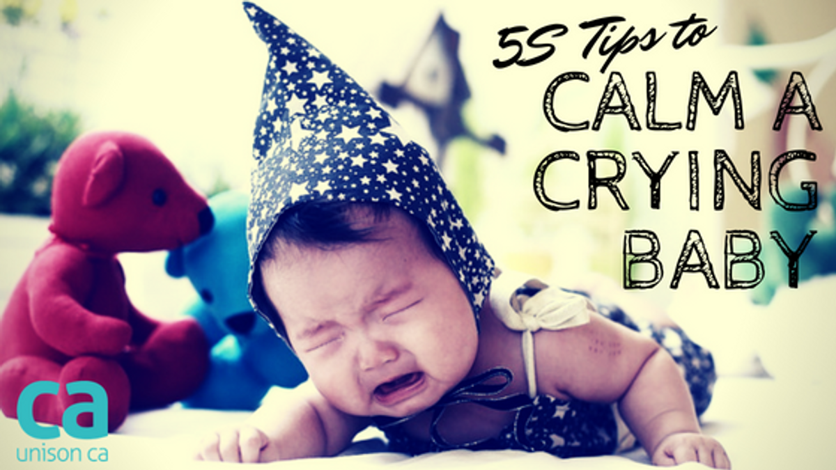 5S Tips To Calm A Crying Baby