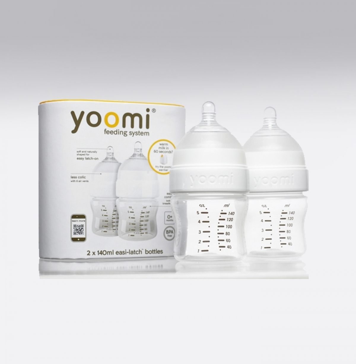 yoomi warmth within - 5oz bottle (twin pack)