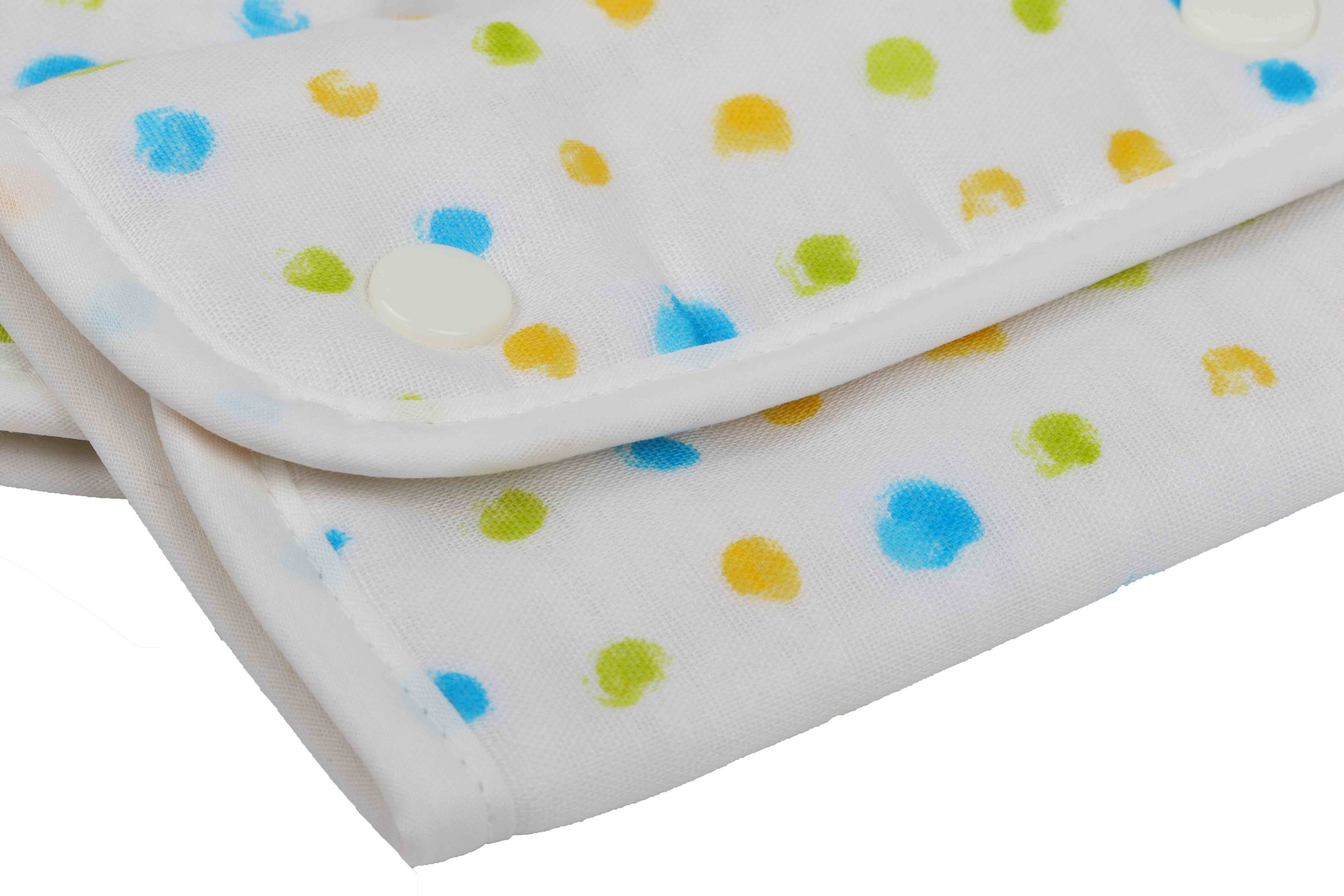 Buddy Buddy Teething Pad - Handwriting dot (Blue)