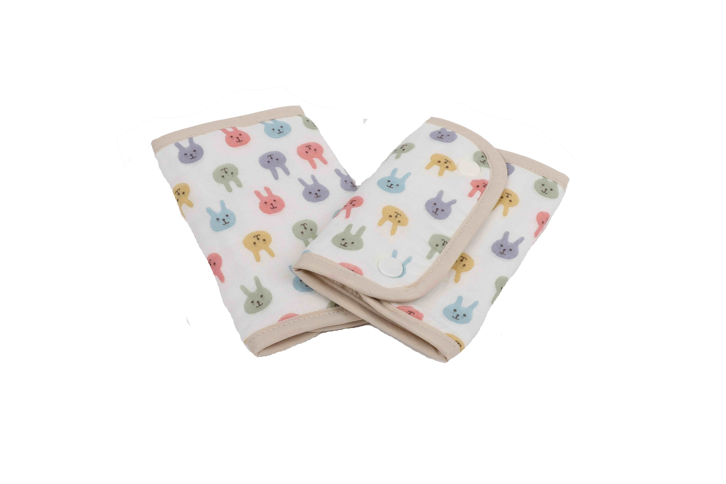 Buddy Buddy Teething Pad - Rabbit (Beige)