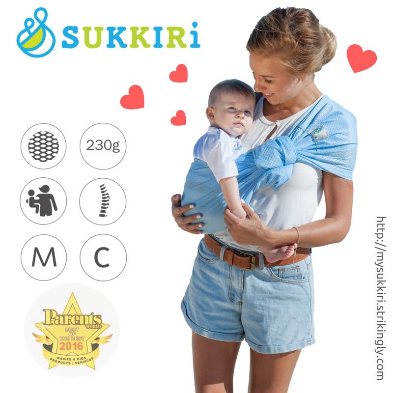SUKKIRi (Mesh Ring Sling) - Navy