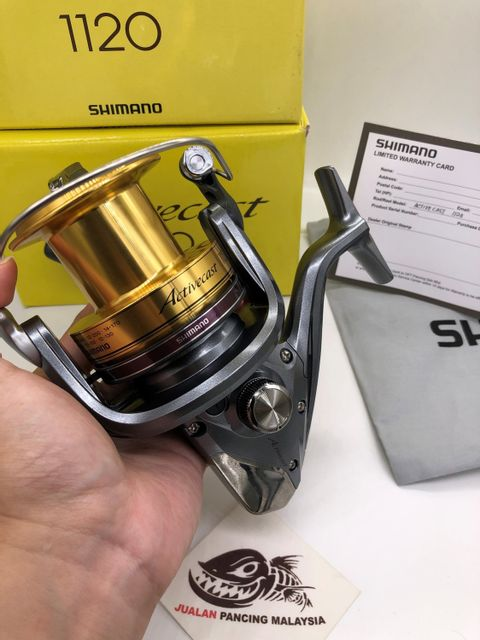 SHIMANO ACTIVECAST 1100 1120 SURFCAST SPINNING FISHING REEL WITH 1 YEAR WARRANTY ccccc.jpg