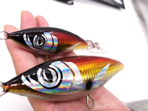 INDO MALAYSIA 100% PURE HANDMADE Topwater Wooden GT Popper Tuna Trolling STICK BAIT Pencil LURE  8 kcdx.jpg