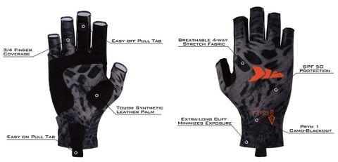 KastKing Sol Armis Sun Gloves UPF50+ Fishing Gloves UV Protection Gloves for Fishing, Kayaking, Outdoor Half-Finger Breathable Leather Glove cc.JPG
