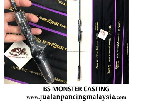 BOSSNA BS MONSTER IGUANAX LIMITED EDITION CASTING  SPINNING SOLID CARBON JIGGING ROD FCCCQ.JPG