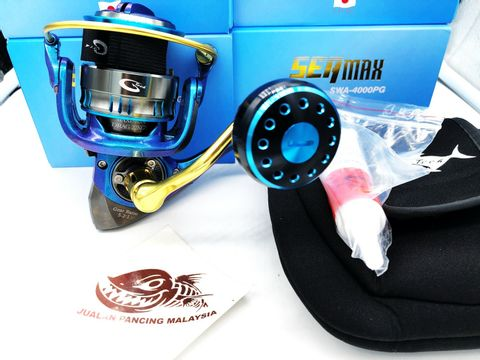 G-TECH 2021 SEA MAX SW LIMITED EDITION SPINNING FISHING REEL xxxxxx.jpg