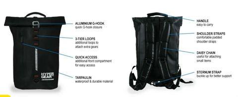 Hypergear Dry Pac Aero Waterproof Outdoor Backpack Bag(25L) xz.jpg