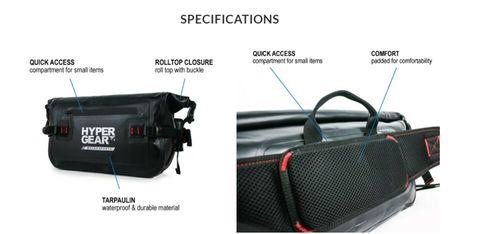 Hypergear Waist Pouch L V2 Waterproof  Durable  Motor Pouch  Outdoor Bag bcxxx.jpg