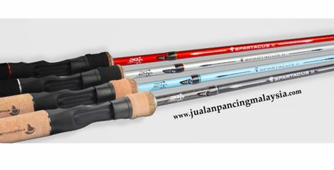 KASTKING SPARTACUS II CASTING FISHING ROD, 2TIPS, MALAYSIA STOCKxx.JPG