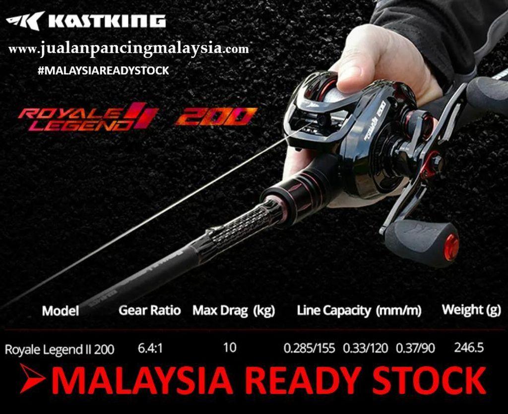 KastKing Royale Legend II 200 Baitcasting Reel 10 KG Baitcasting Reel, Malaysia Stock,Kiri.JPG