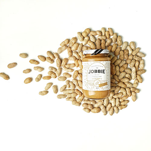 JOBBIE NUT BUTTER - Get natural peanut butter delivered to your doorstep |  - On Diet
