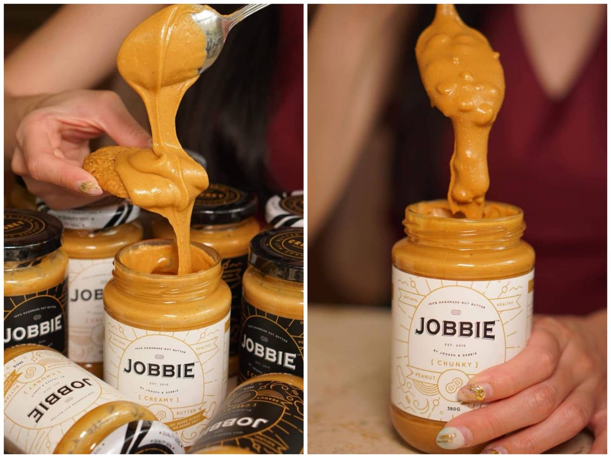 #2 Why is my bottle of Jobbie peanut butter so watery and have a layer of oil on top. WHY WHY WHY!?