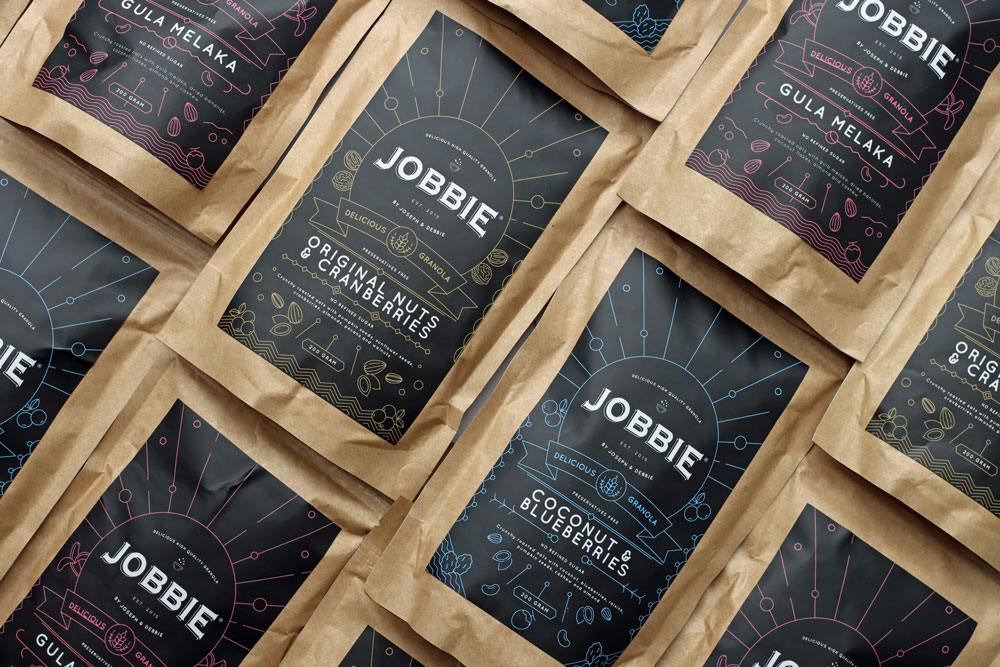 JOBBIE NUT BUTTER - Get natural peanut butter delivered to your doorstep | Jobbie Granola Pack