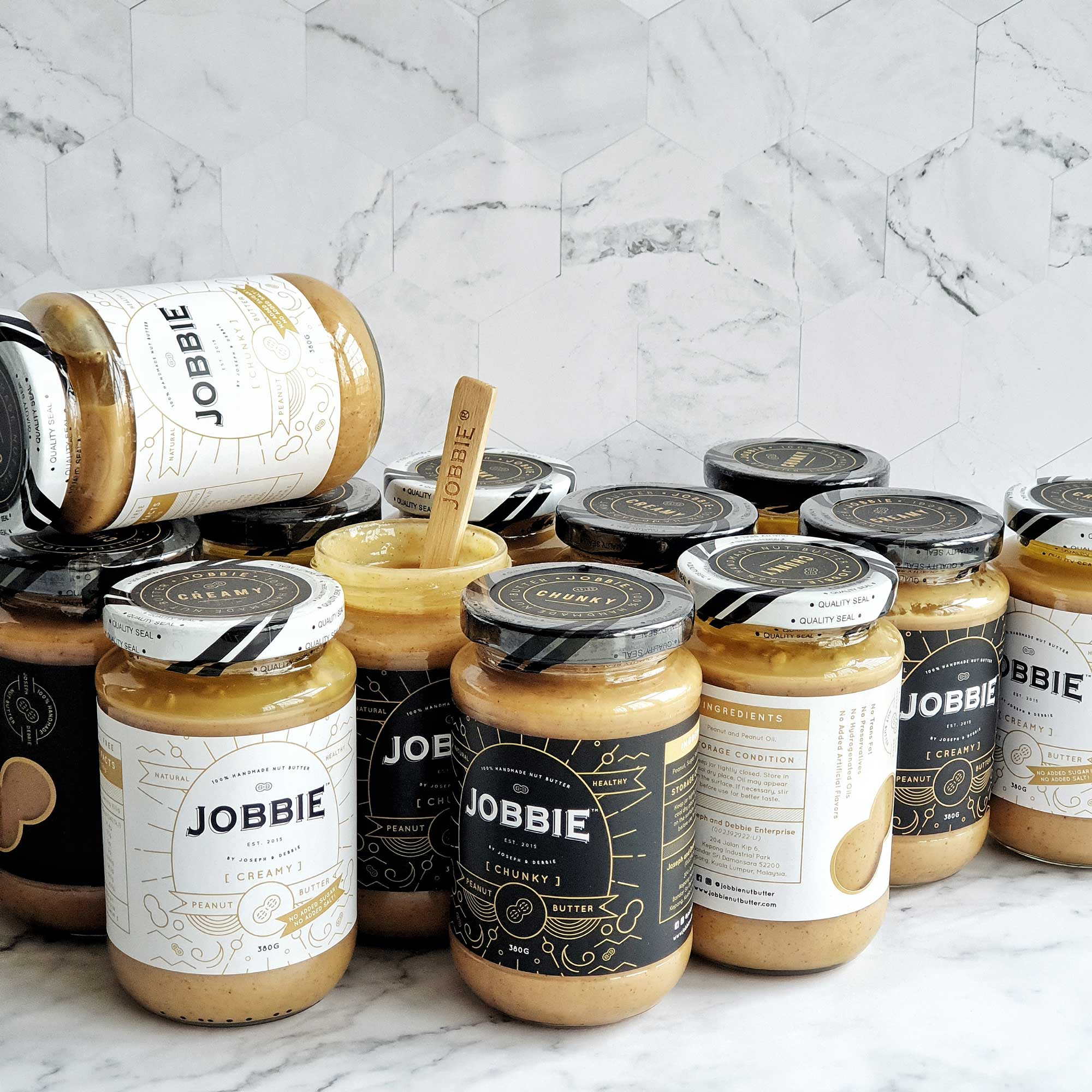JOBBIE NUT BUTTER - Get natural peanut butter delivered to your doorstep |