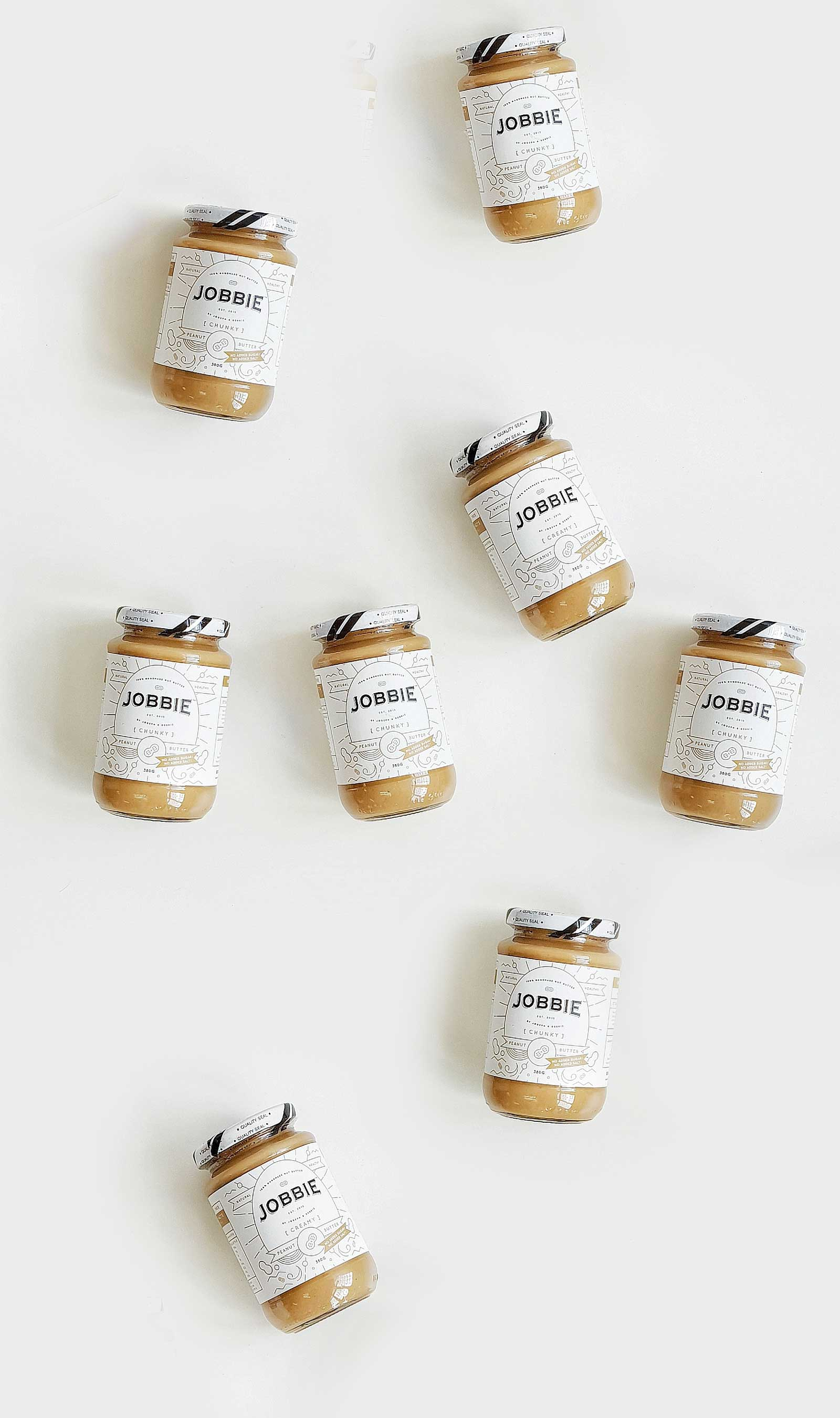 JOBBIE NUT BUTTER - Get natural peanut butter delivered to your doorstep | FREE SHIPPING