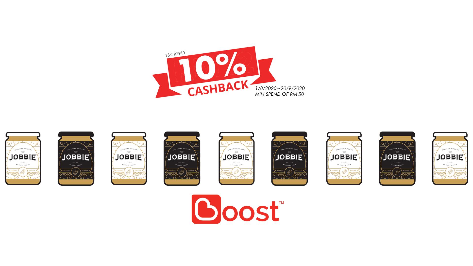 JOBBIE NUT BUTTER - Get natural peanut butter delivered to your doorstep | 10% Cashback