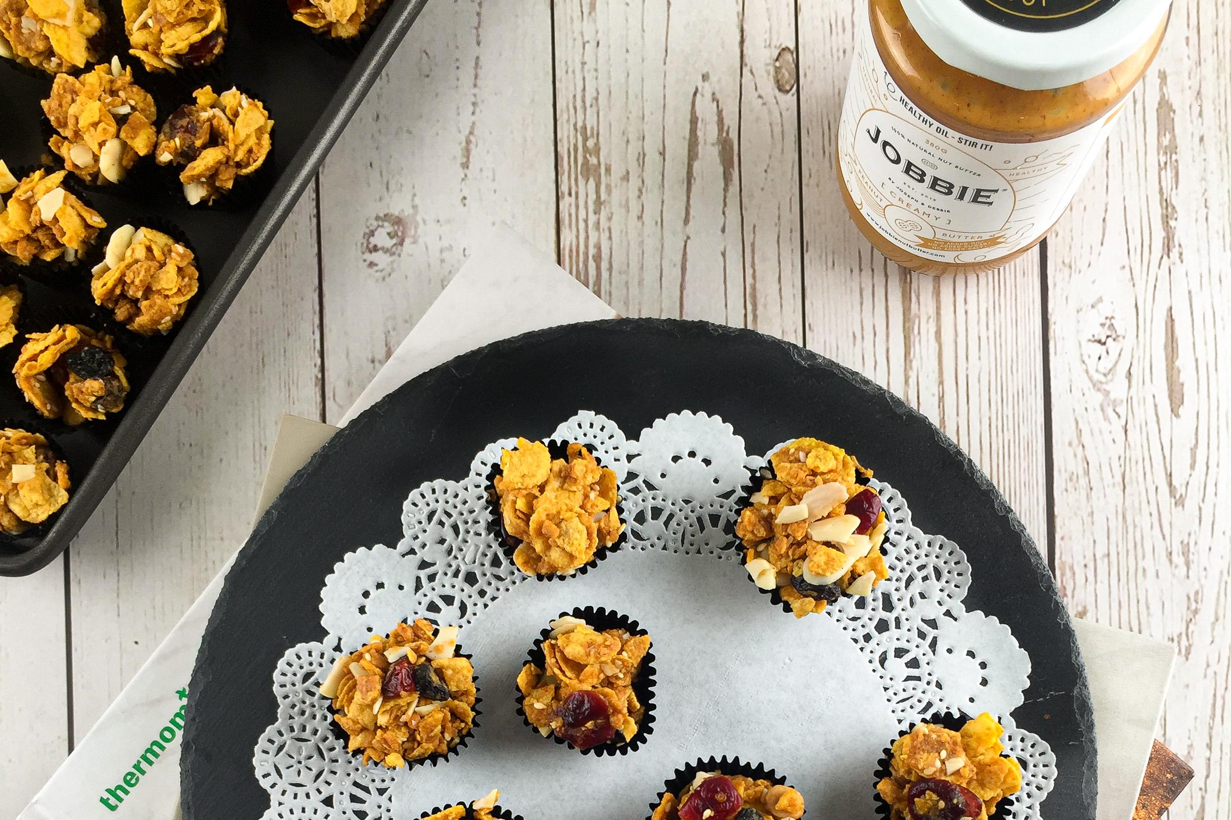 JOBBIE Peanut Butter Cornflakes Cookies
