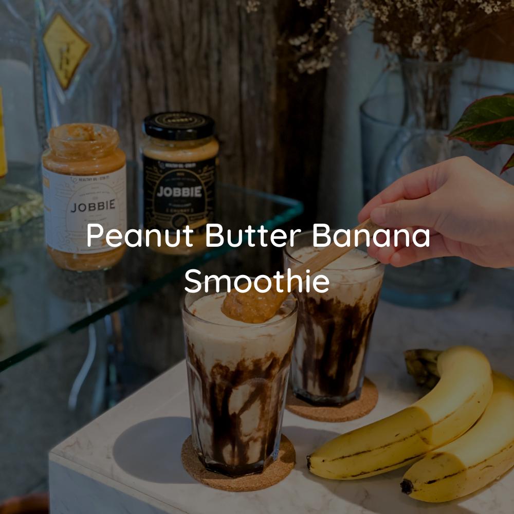JOBBIE Peanut Butter Banana Smoothie