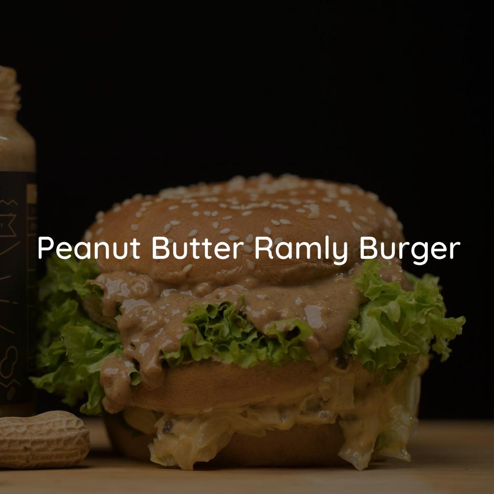 Ramly Burger with JOBBIE Peanut Butter