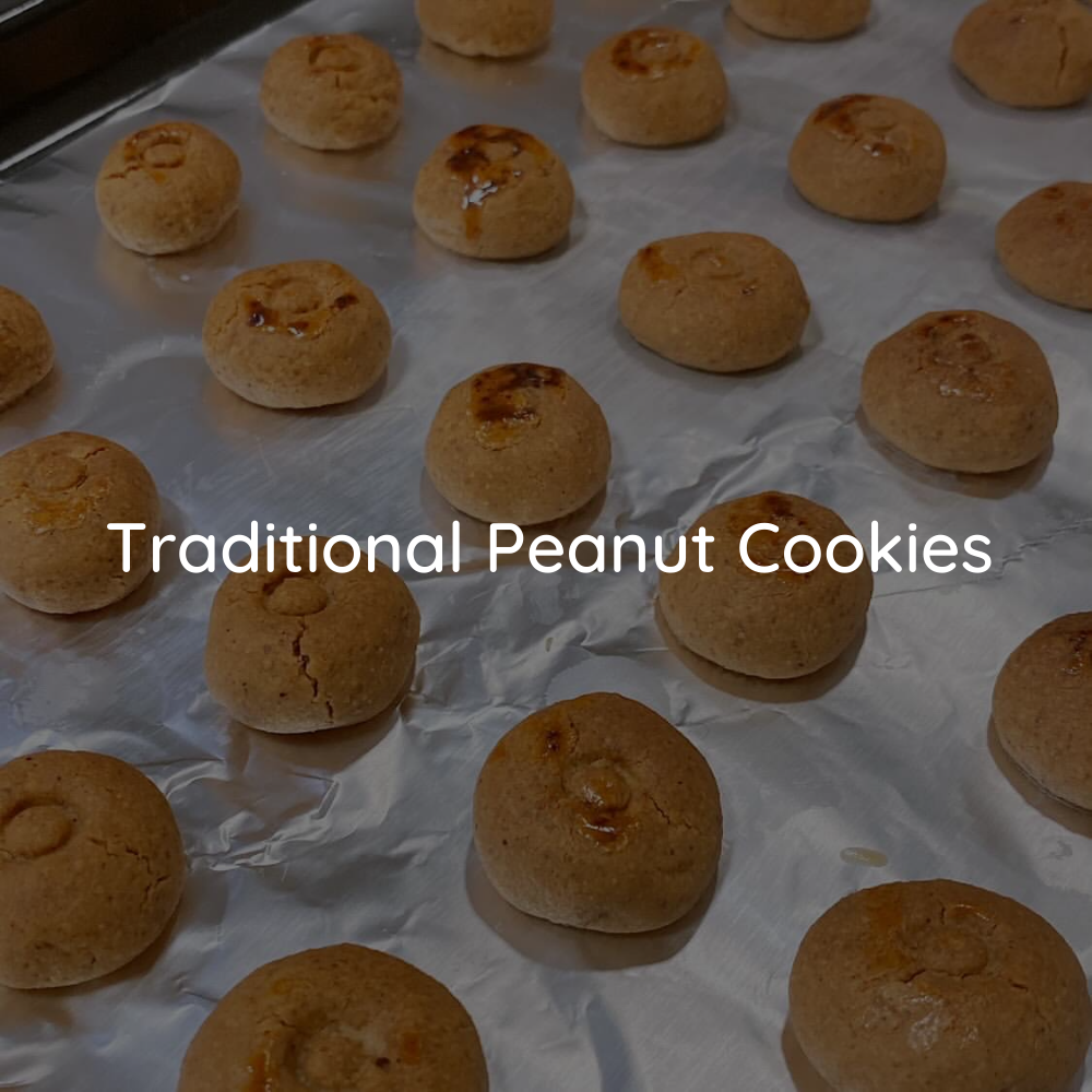 Traditional Peanut Cookies with JOBBIE Peanut Butter
