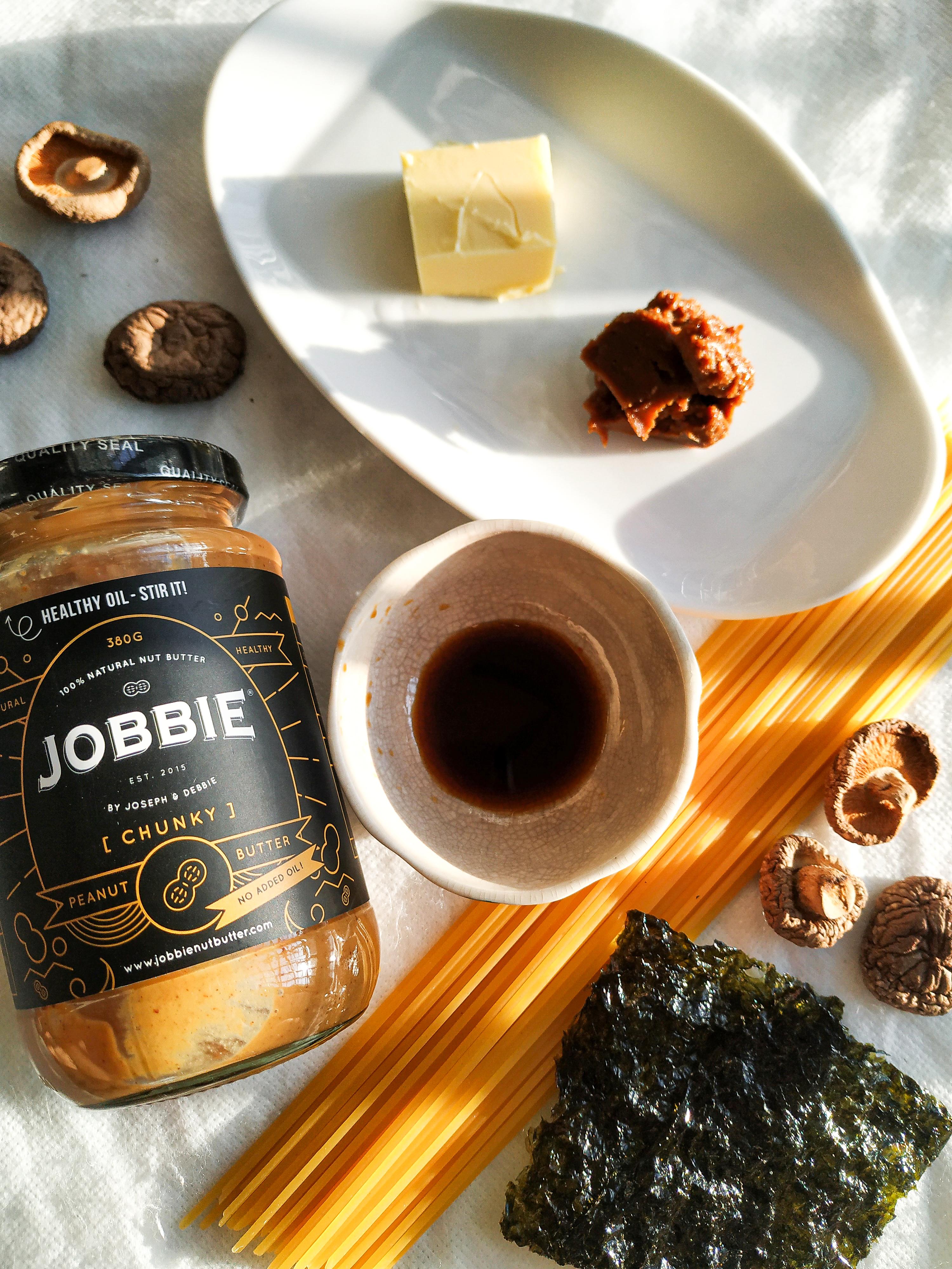JOBBIE Peanut Butter Miso Pasta