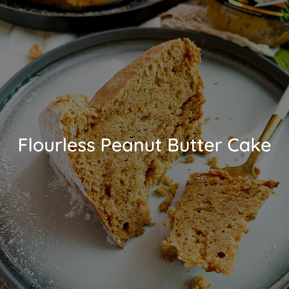 Flourless JOBBIE Peanut Butter Cake