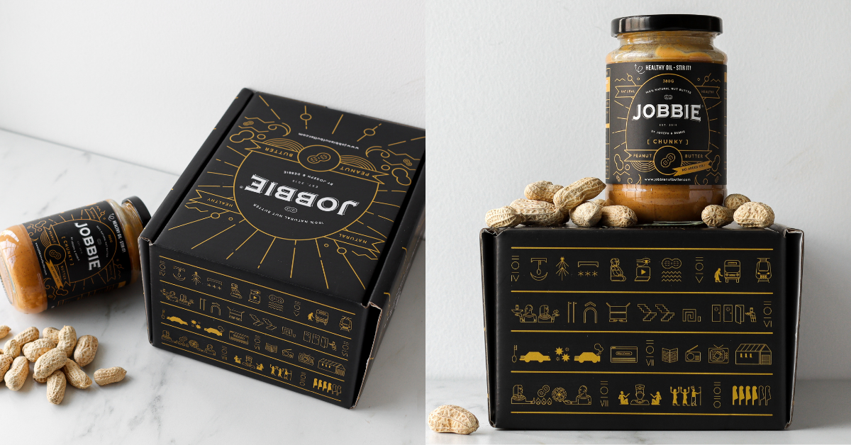 JOBBIE Nut Butter New Box! What's so mysterious about it? Hidden messages? Weird Egyptian/Mayan symbols? Are you guys secretly from a secret society planning a world domination!?