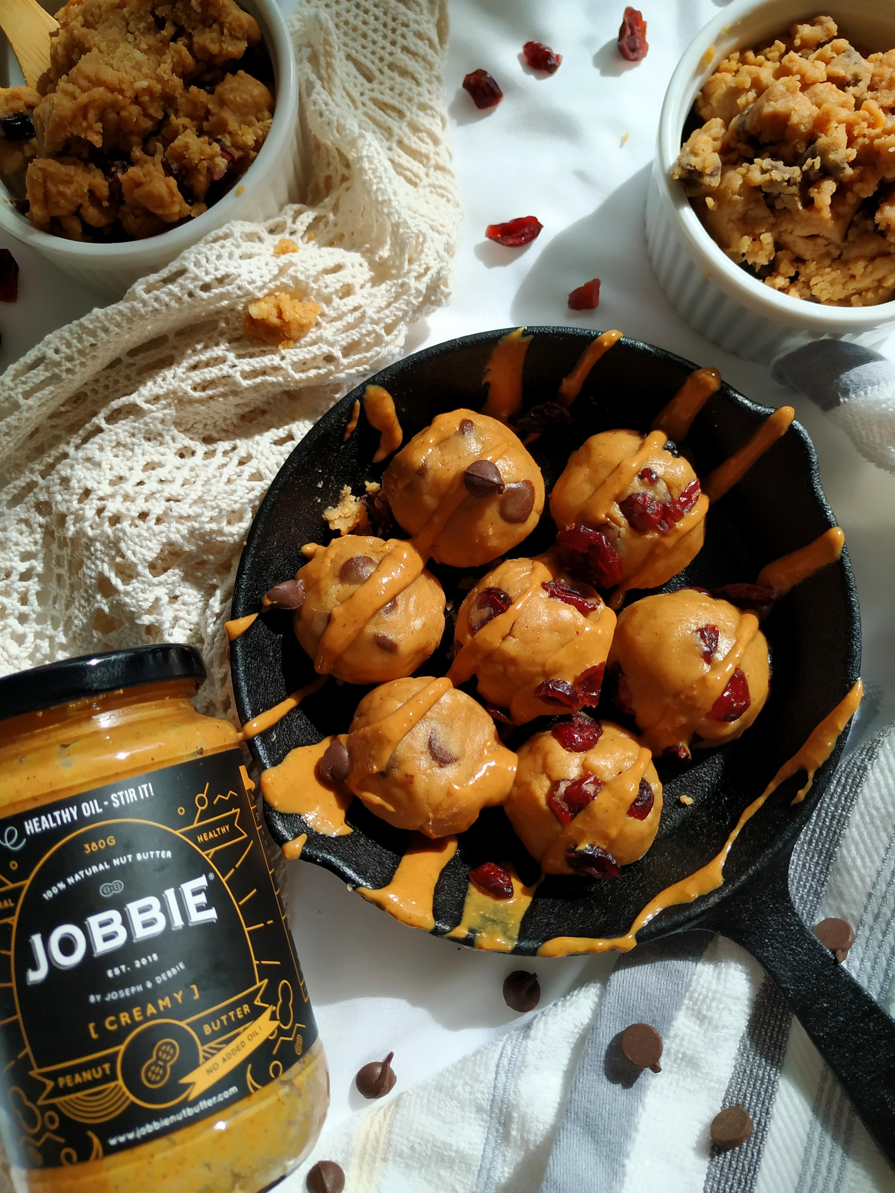 Edible Raw JOBBIE Peanut Butter Cookie Dough