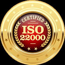 JOBBIE Nut Butter is ISO22000 certified