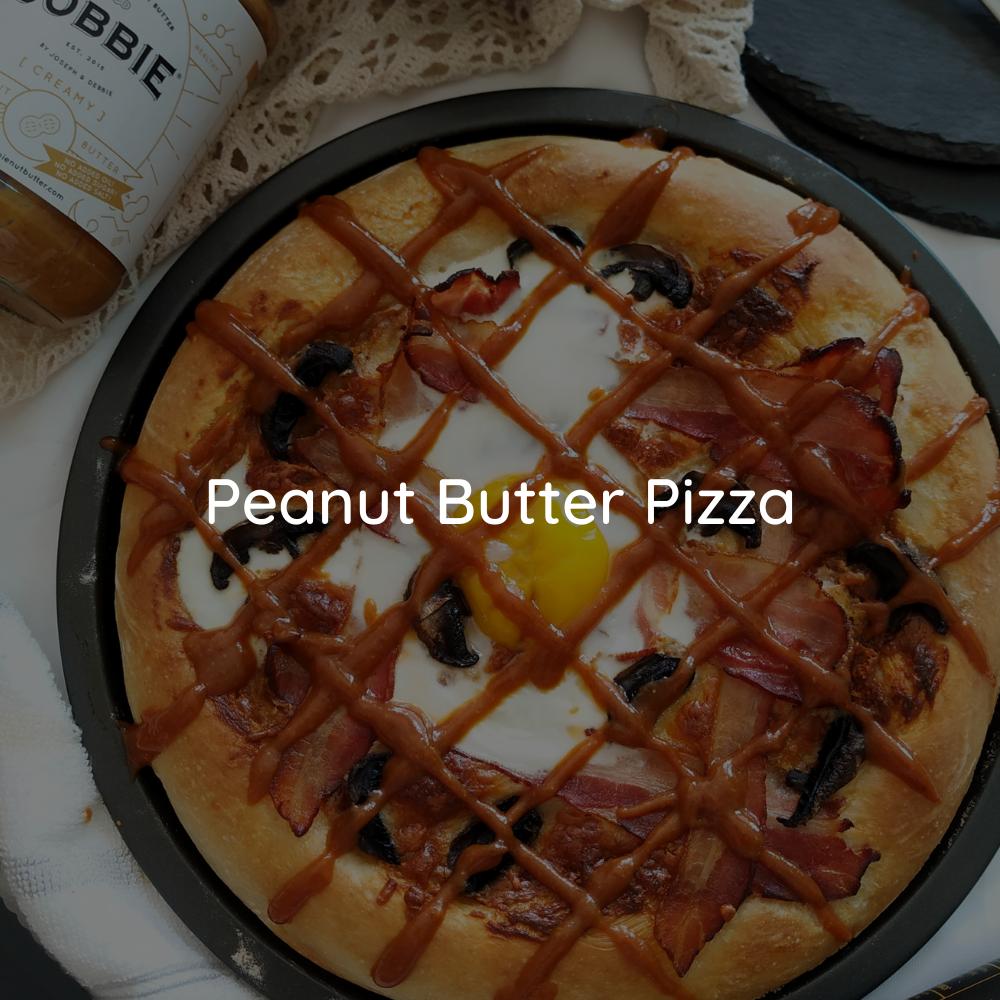 JOBBIE Peanut Butter Breakfast Pizza Hawaiian Pizza