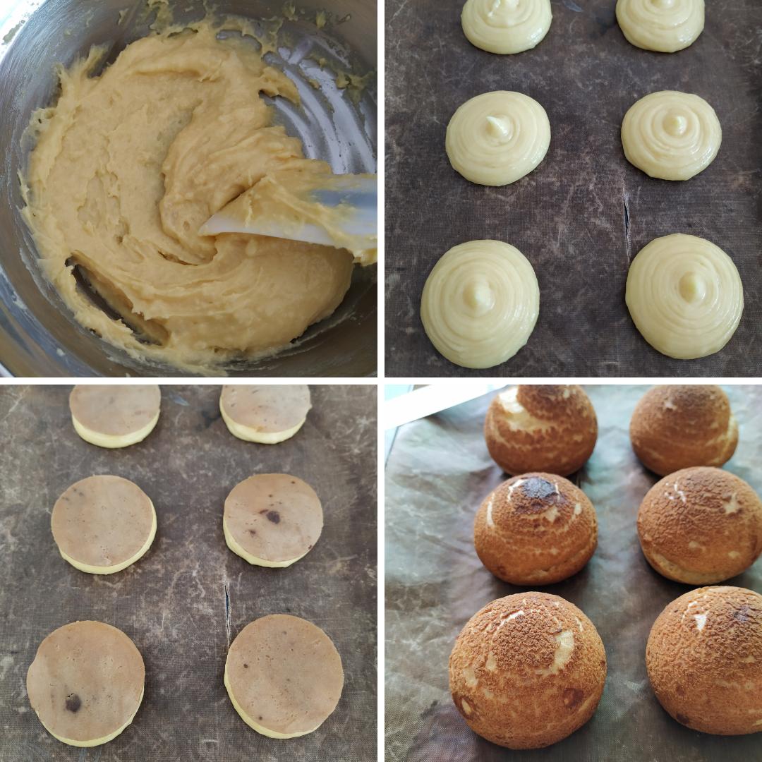 JOBBIE Peanut Butter and Jam Cream Puff