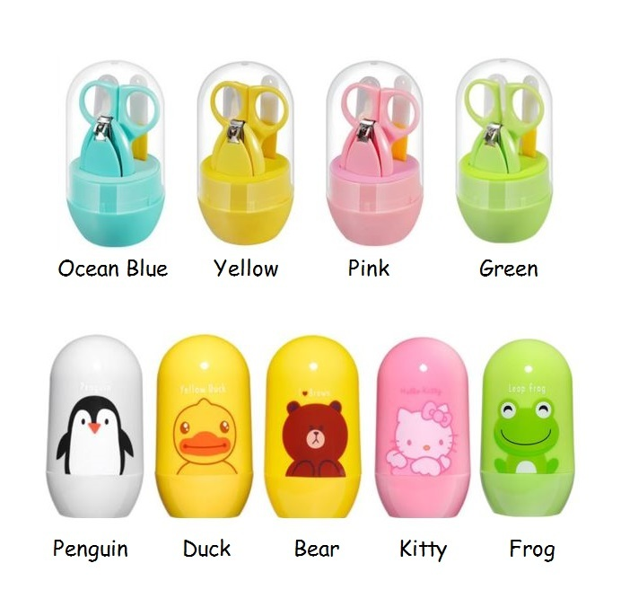 4 in 1 Baby Grooming Set / Baby Care Kit / Baby Nail Clipper ...