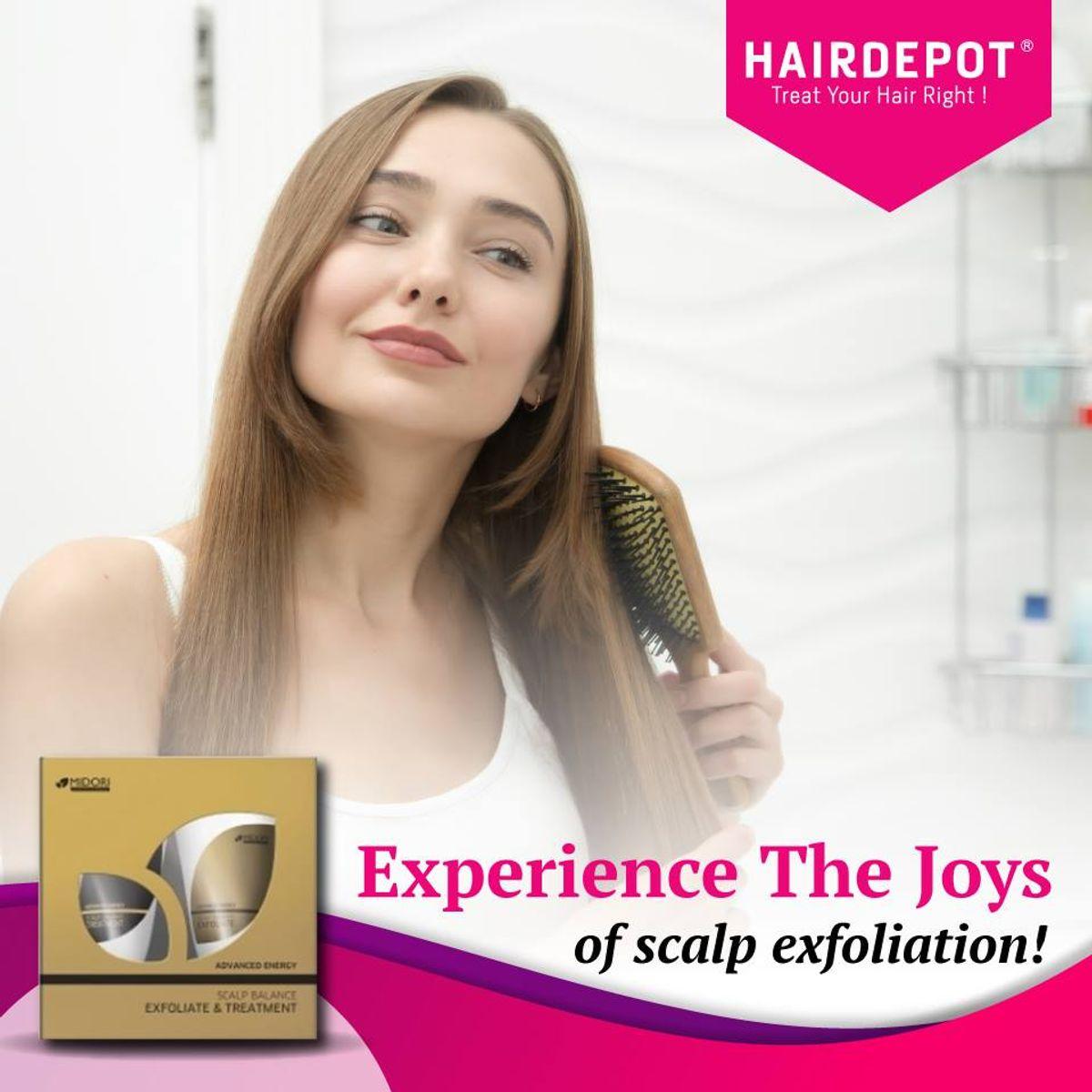 Experience the joys of Scalp Exfoliation!