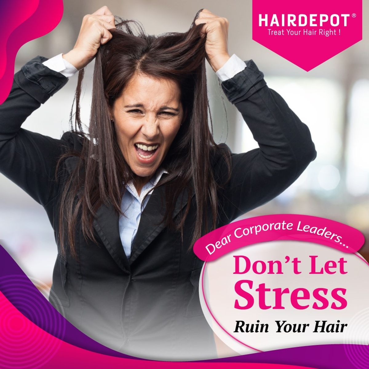 Don't Let Stress Ruin Your Hair