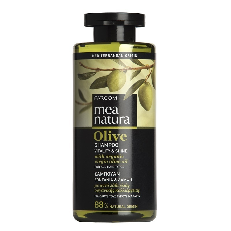MEA NATURA OLIVE NORMAL HAIR SHAMPOO 300ML