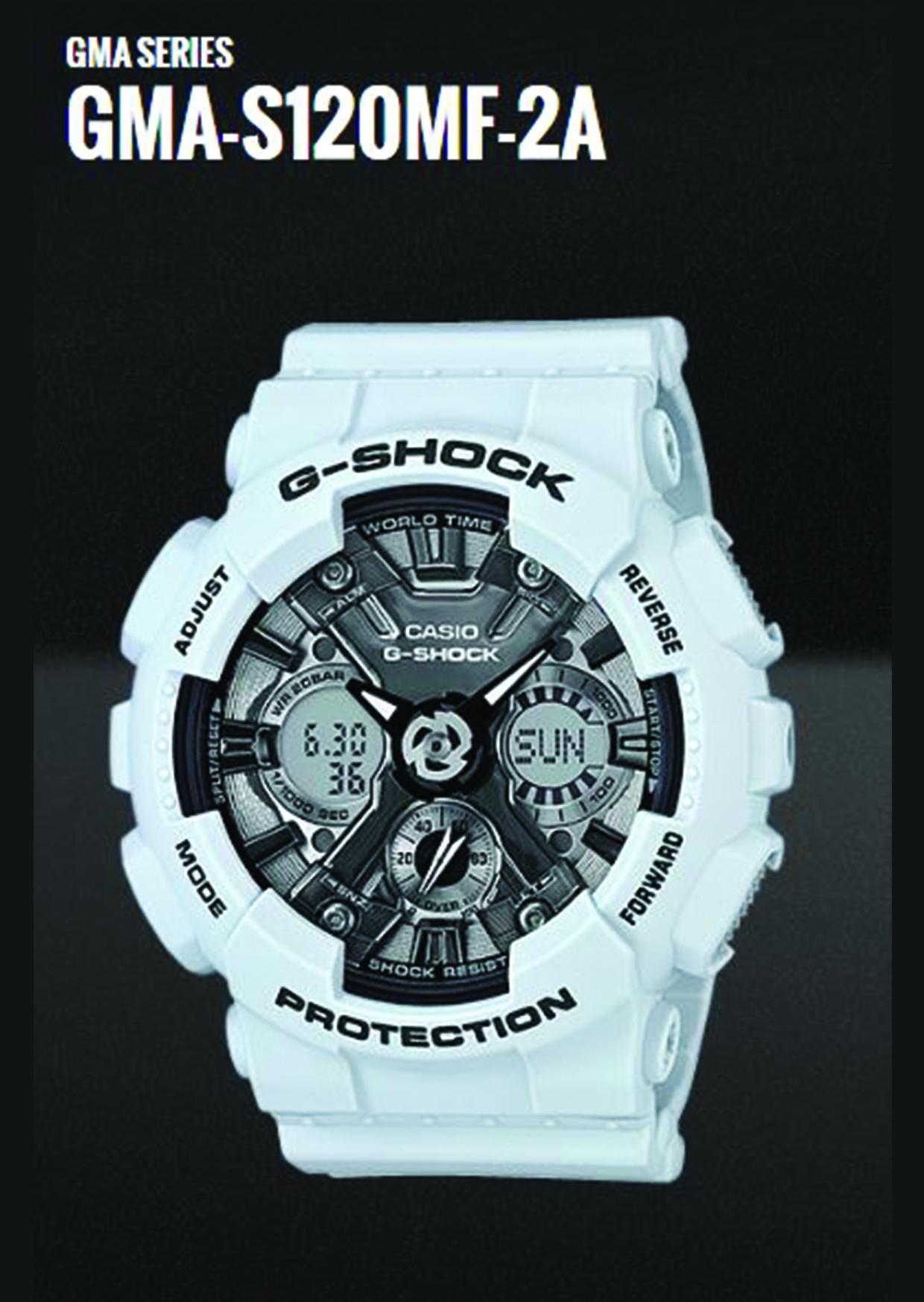 Timepieces Jostyle Boutique Casio G Shock Gma S120mf 7a2 2a